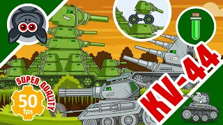 All Episodes: KV-44 vs Super Mutants. Steel Monsters. Part 2. Cartoons about Tanks