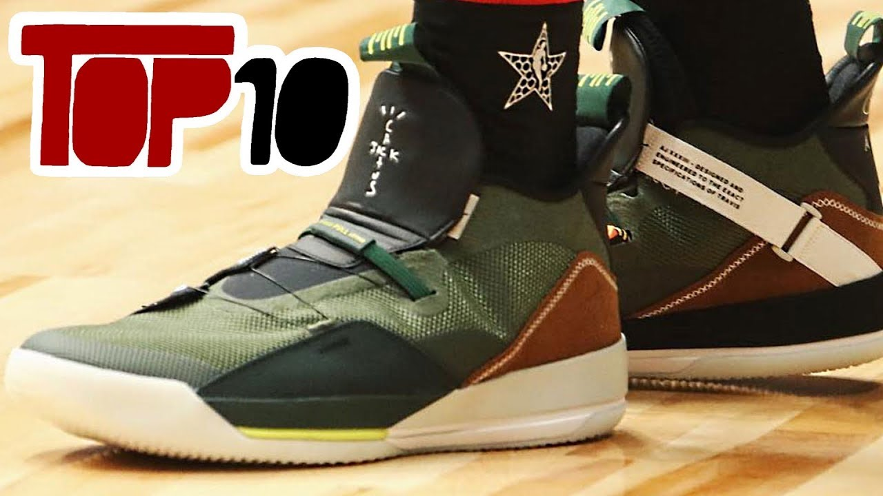 2bdeec2b3ec Top 10 Hottest Shoes In The NBA All-Star Game Of 2019 - YouTube