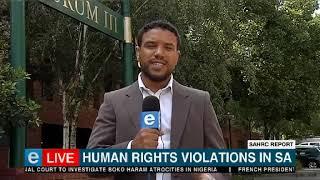 SAHRC | Human rights violations report expected