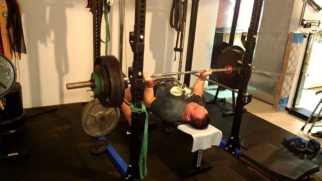 400 Lb Bench Press Club Part - 28: Reverse Grip Bench Press: 400 Lb X 1 (1RM) - YouTube