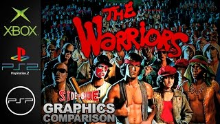 The Warriors | Graphics Comparison | ( Xbox , PS2 , PSP )