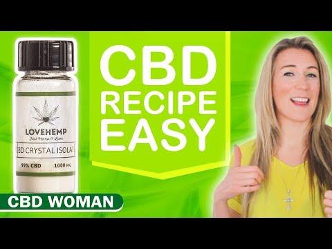 How To Make Homemade CBD Edibles! Easy Recipe