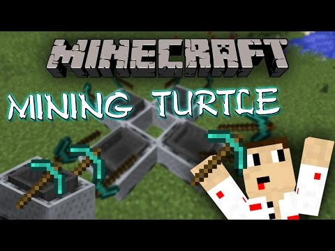 """Minecraft 1.9 Mining Turtle"" - ЛЕСНИ ДИАМАНТИ"