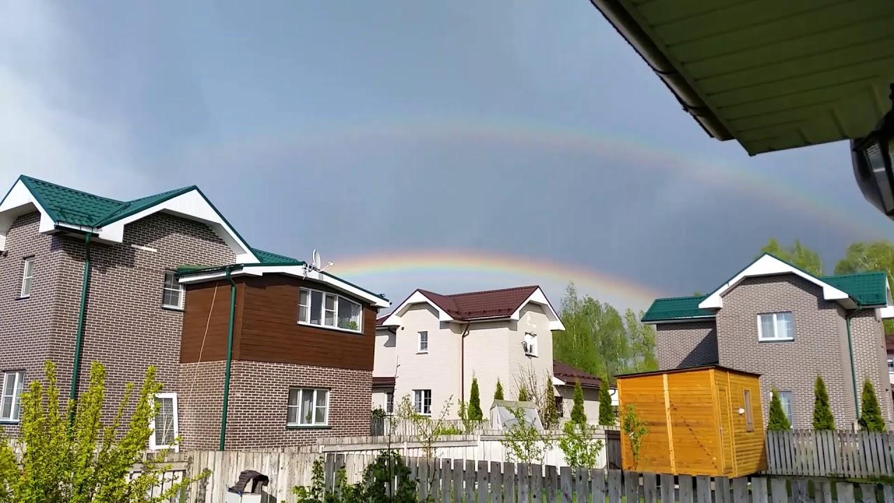 Дождь и радуга - YouTube