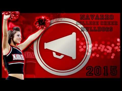 Navarro College Cheer - Bulldogs 2015