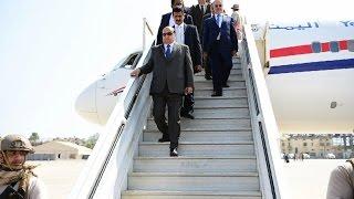 أخبار عربية: ملفات سياسية واقتصادية في أول زيارة لهادي إلى حضرموت