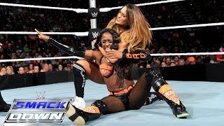 Team B.A.D. Vs Team Bella: SmackDown, Oct. 1, 2015