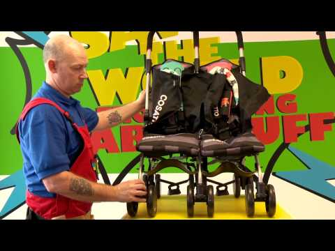 Cosatto Fix It Guide - Supa and Supa Dupa Stroller: Removing the Seat Unit
