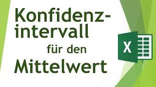 Konfidenzintervall des Mittelwerts in Excel berechnen - Daten analysieren in Excel (13)