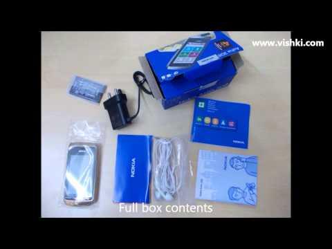 Nokia Asha 308 Golden Light unboxing
