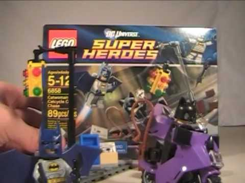 LEGO Super Heroes Batman: The Catwoman Catcycle City Chase Play Set ...