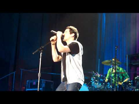 David Archuleta, Barriers, Las Vegas, 07/18/09