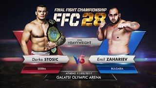 FFC 28: Darko Stosic vs. Emil Zahariev
