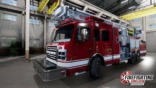 Firefighting Simulator ★ Demo ★ GAMEPLAY ★ GEFORCE 1070