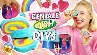 3 geniale LUSH DIYs 💦 Dusch Jelly, Knetseife & Handcreme 😍 Kosmetik selber machen!