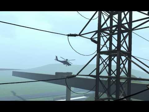 The Omega Concern: WAH-64(Mesh) Demo Flight at Tokyo-WindHill City