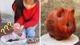 How To Make A Pig For Saving Money From Wood - Art in your heart - Creative Ideas with Wood