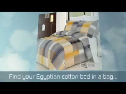 Egyptian Cotton Bed In A Bag Sets