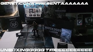 UnboxinG Watch Dogs DEDSEC EDITION PC By GenetiCDNA