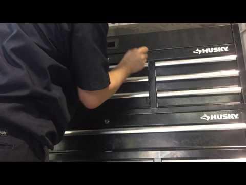 Husky Toolbox by Home Depot Lock Mechanism Fail