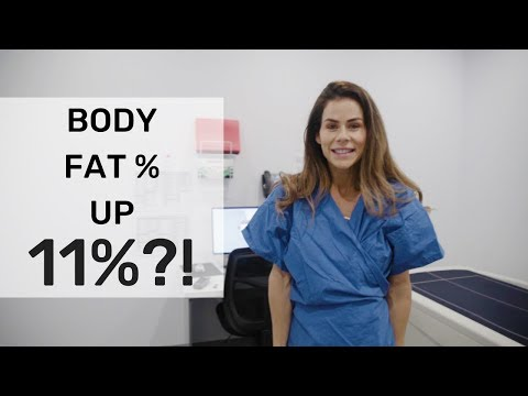 I gained 11% body fat before comp?!   DXA scan   Sophie Guidolin