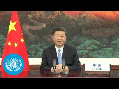 🇨🇳 China - President Addresses General Debate, 75th Session