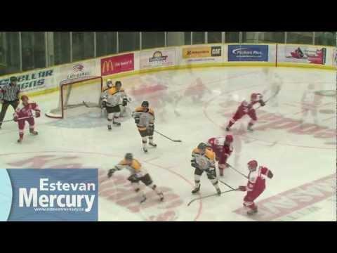 Estevan Bruins vs. Weyburn Red Wings - Game 2
