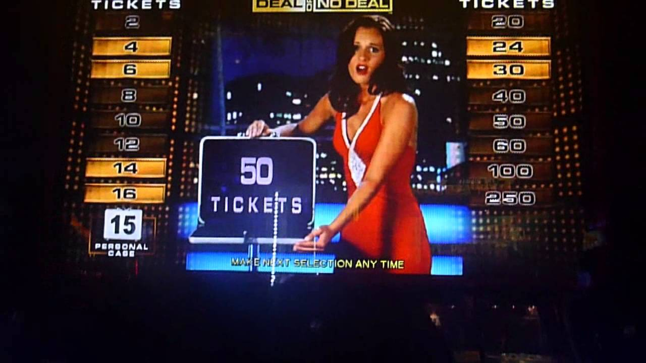 The Deal Or No Deal Game At Dave And Busters Bonus