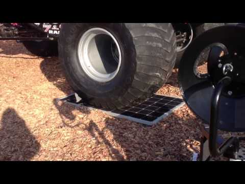 USA Solar Panel Test - MSR/BOSCH & SUNWAYS AG
