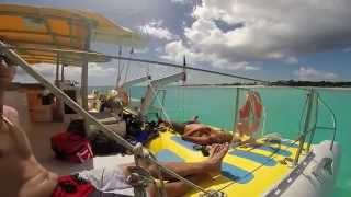 ScoobiToo catamaran / GoPro Hero 3+