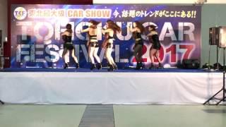 SEXYな5人組FoxyInc. TOHOKU CAR FESTIVAL2017 in 夢メッセ仙台