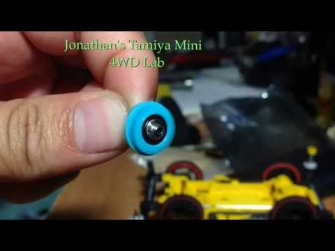 Tamiya mini 4WD VS chassis  Super 2 chassis counter gear upgrade 100% ball bearing transmission