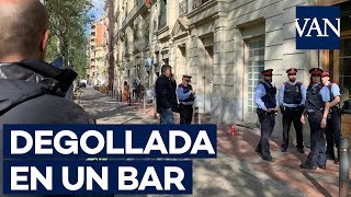 Un detenido por el asesinato de una mujer en Barcelona