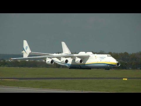 Letiště Praha Ruzyně - Antonov AN-225 Mrija 10.5.2016