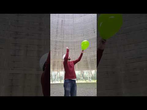 Scotty Perry - Dude Pops a Balloon inside a Nuclear Cooling Tower
