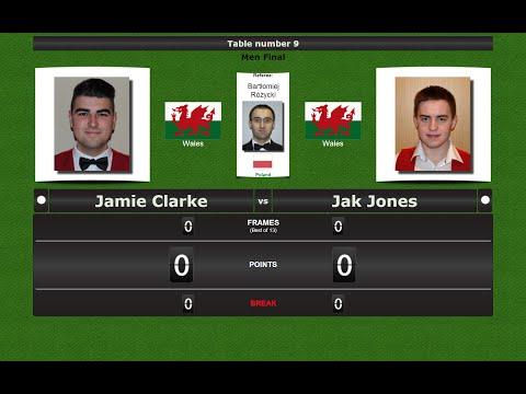 Final: Jamie Clarke vs Jak Jones