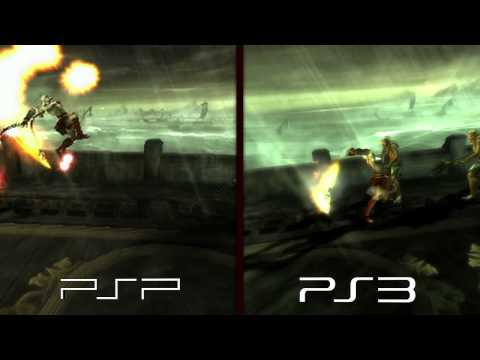 God Of War HD Vs SD