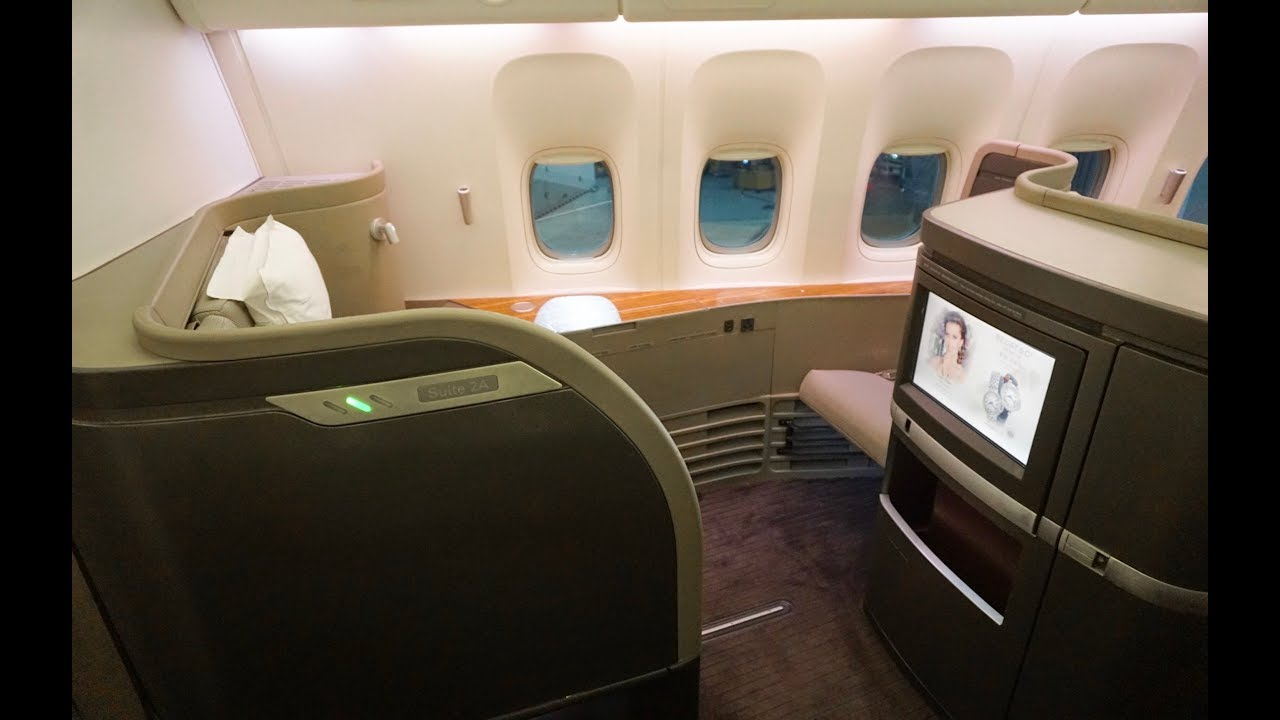 21 Hours In Cathay Pacific First Class New York To Hong