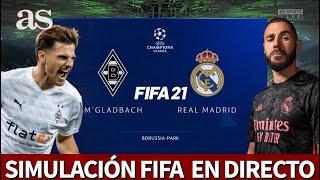 B. M'GLADBACH - REAL MADRID | FIFA 21: simulación del partido de fase de grupos de la Champions | AS