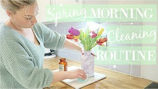CLEAN WITH ME 2018 | MORNING CLEANING ROUTINE | SPRING CLEANING | RELAXING POWER HOUR SPEED CLEAN thumbnail