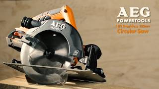 AEG 18V Brushless Circular Saw BKS18B / SERRA CIRCULAR A BATERIA BKS18B