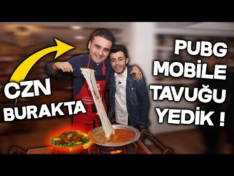 CZN BURAK'TA PUBG MOBİLE TAVUĞU YEDİK !