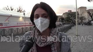 Vaccini Lazio, open day per over 40: le immagini all'hub di Termini
