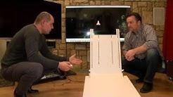Verstecken Sie den Fernseher mit dieser genialen automatischen Halterung