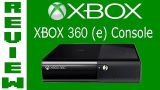 Xbox 360 E Console Review / Unboxing