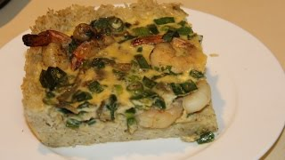 Rice Pie Crust With Prawns And Spring Onions (quick & Easy Meals)