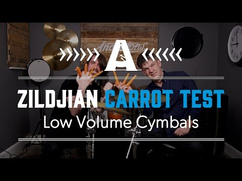 The Carrot Test - Zildjian Low Volume Cymbals