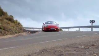 فيديو وصور بورش تكشف النقاب عن 718 بوكستر الجديدة
