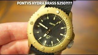 PONTVS Hydra Brass Dive Watch Review - Best Brass Watch Under $300?
