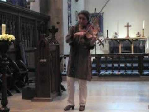 Fanny Power played on the mellow viola